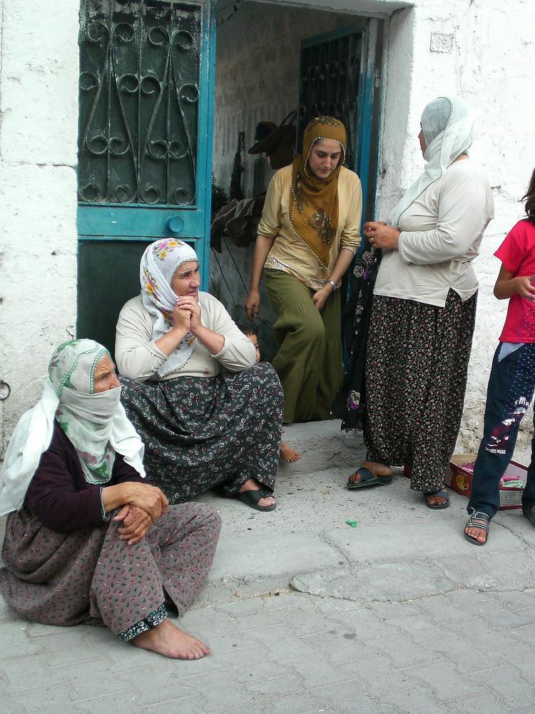 donne turche - scorcio di vita