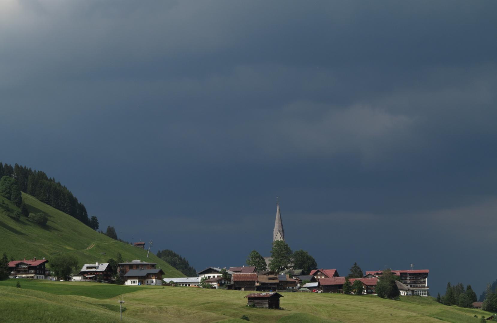 Donner-Wetter...