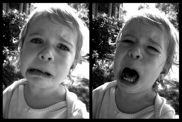 Don't cry little baby...