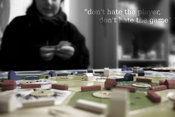 Don't hate the player, don't hate the game