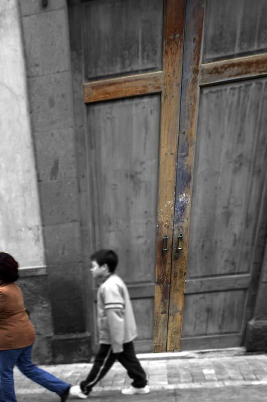 Doors - Brown Cross