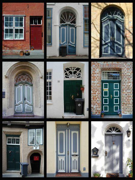 Doors of Lübeck von Mina Zander