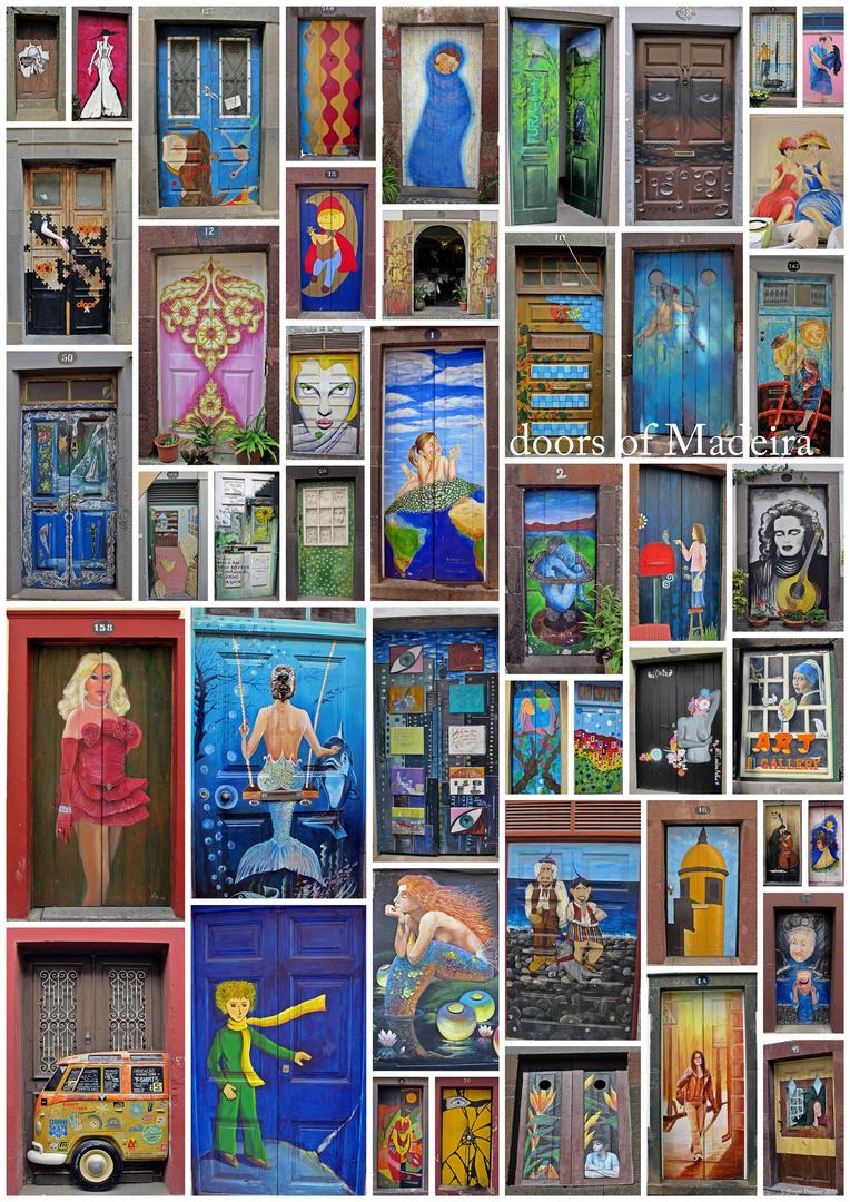 doors of Madeira