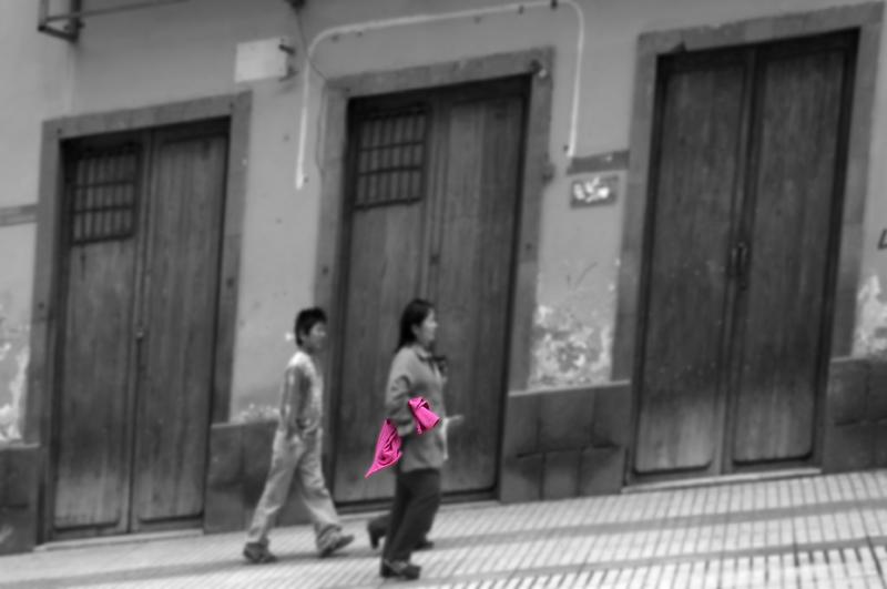 Doors - Pink Jacket