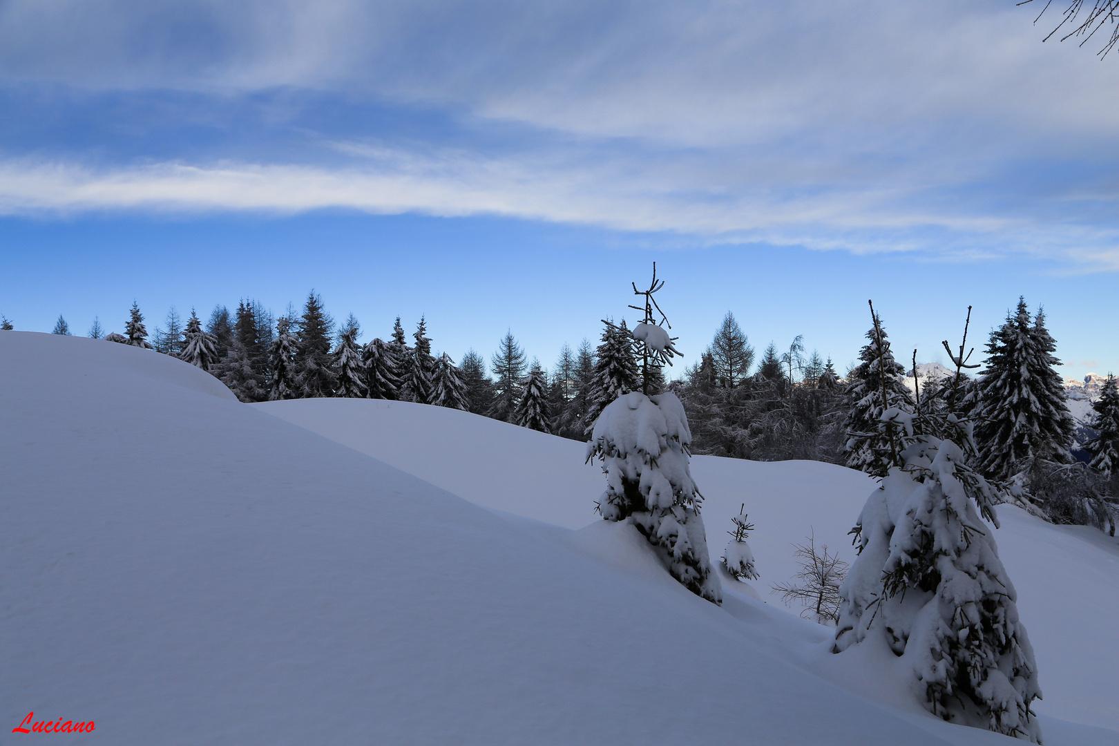 dopo una nevicata