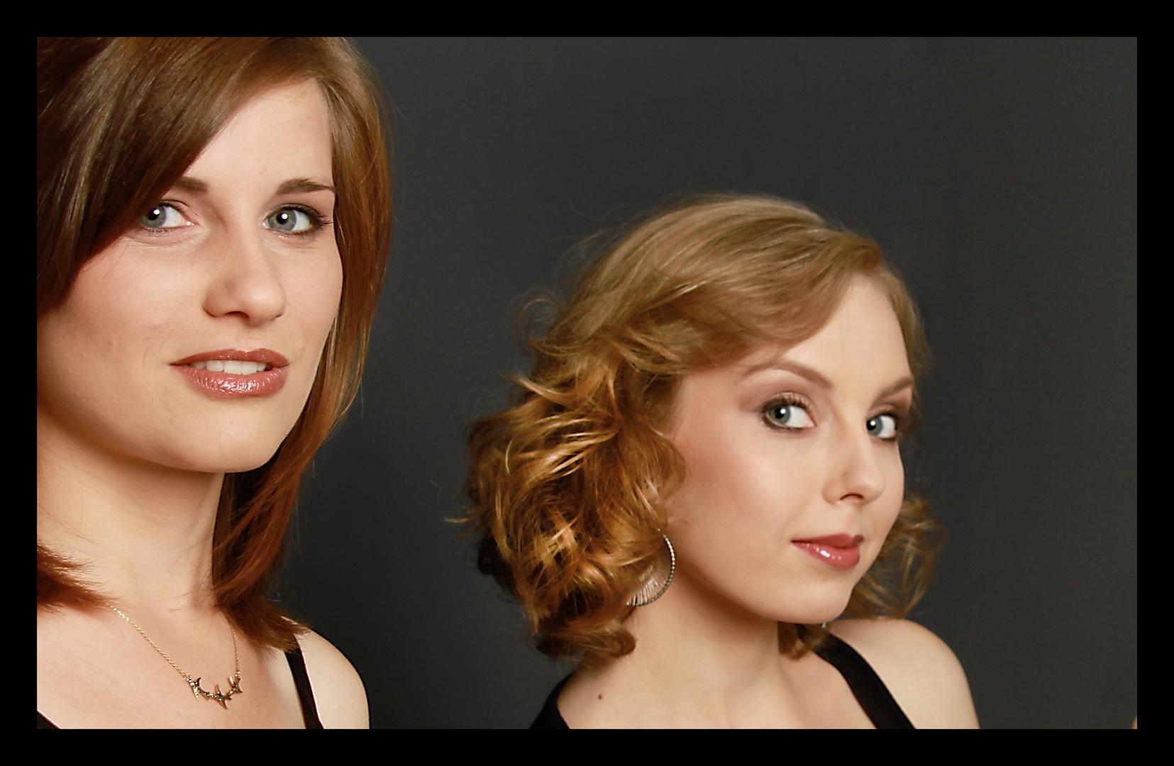 Doppel Portrait - Beautiful