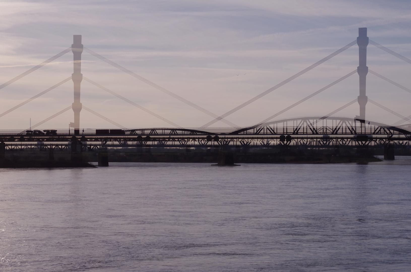 Doppelbelichtung Baerler Brücke