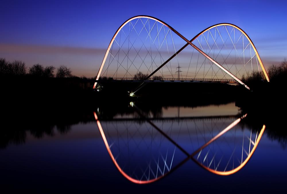 Doppelbogenbrücke I oder Seven of Eight