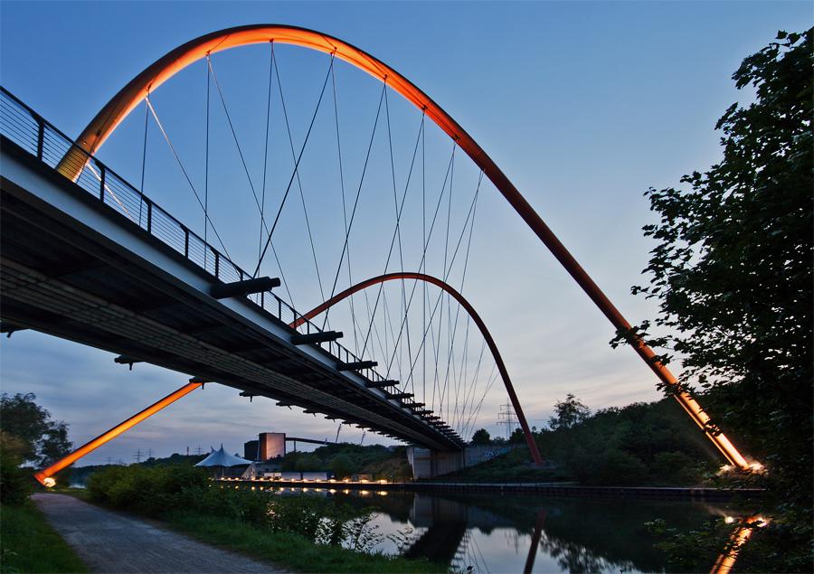 Doppelbogenbrücke Nordsternpark 3