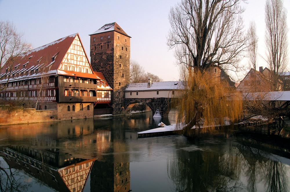 Doppelhaus am Fluß
