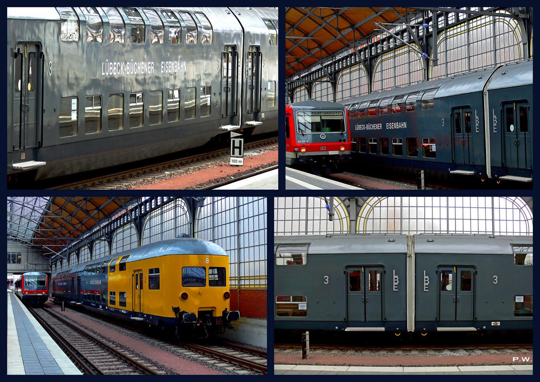 Doppelstock Stromlinien Wendezugwagen LBE - DW 8