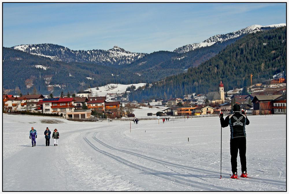 Dorf Achenkirch rückt näher