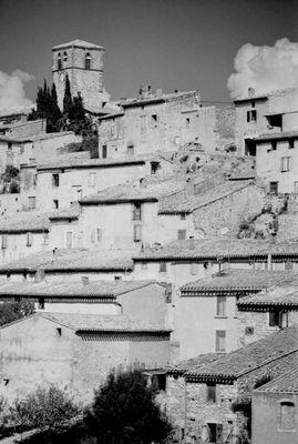 Dorf bei Carcassonne, Frankreich