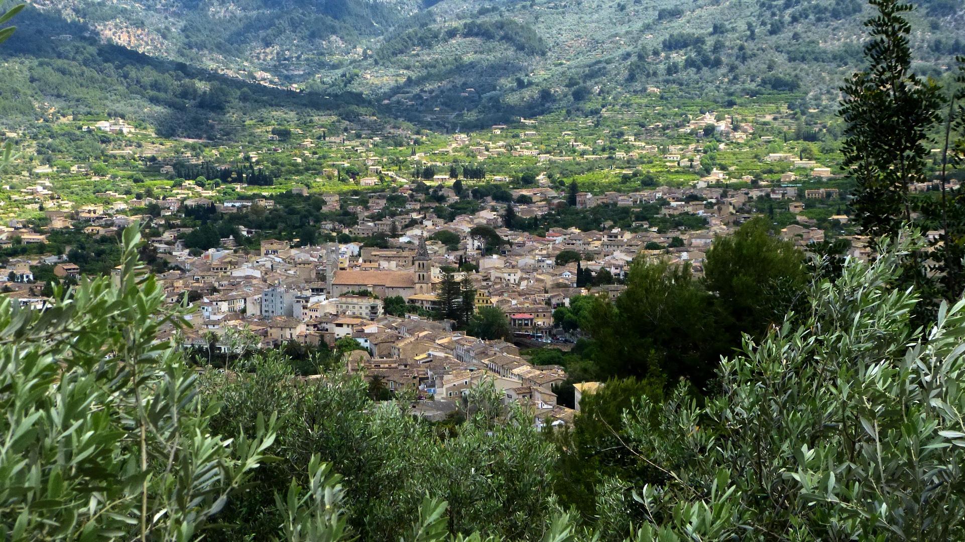 Dorf bei Soller