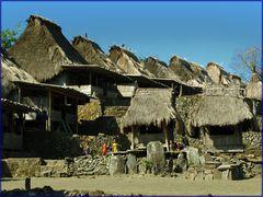 Dorf Bena-Flores Indonesien