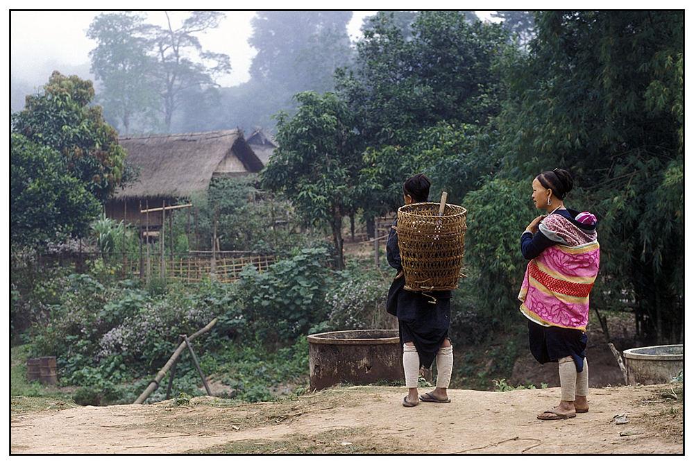 Dorf der Lan Tan