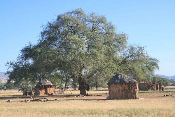 Dorf im Damaraland