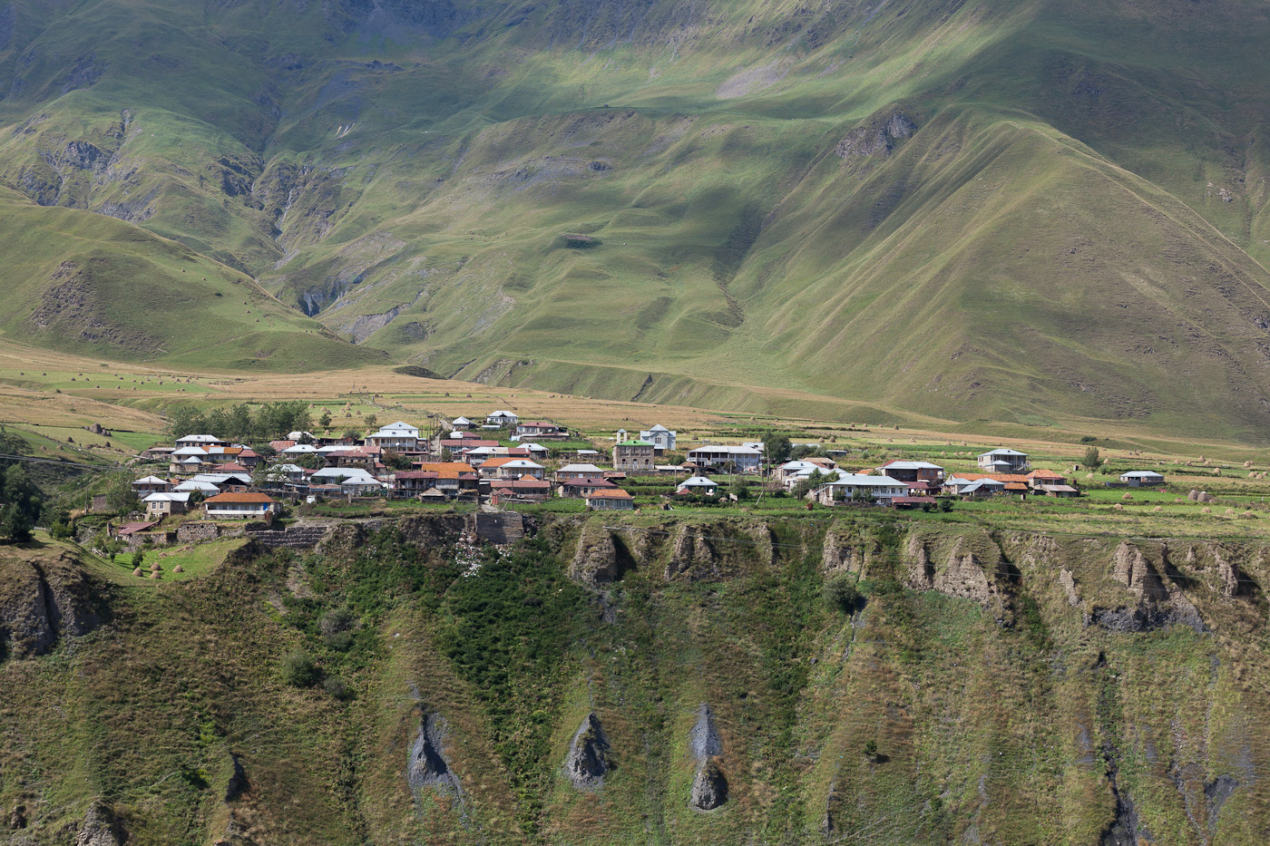 Dorf in Kaukasus