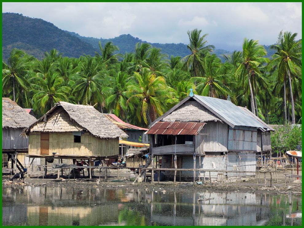 Dorf Riung-Flores- Indonesien