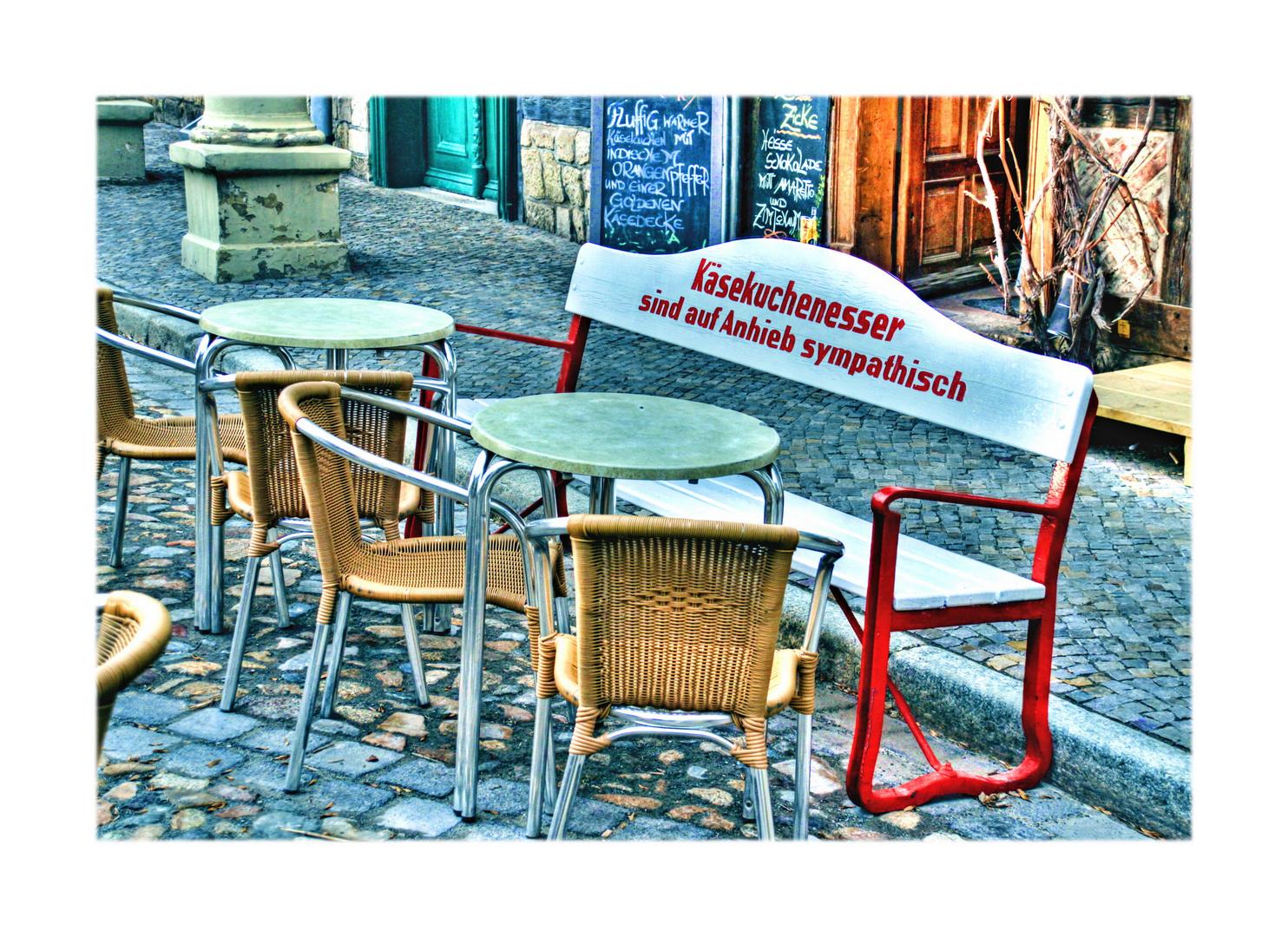 Dorfbank 2 Quedlinburg