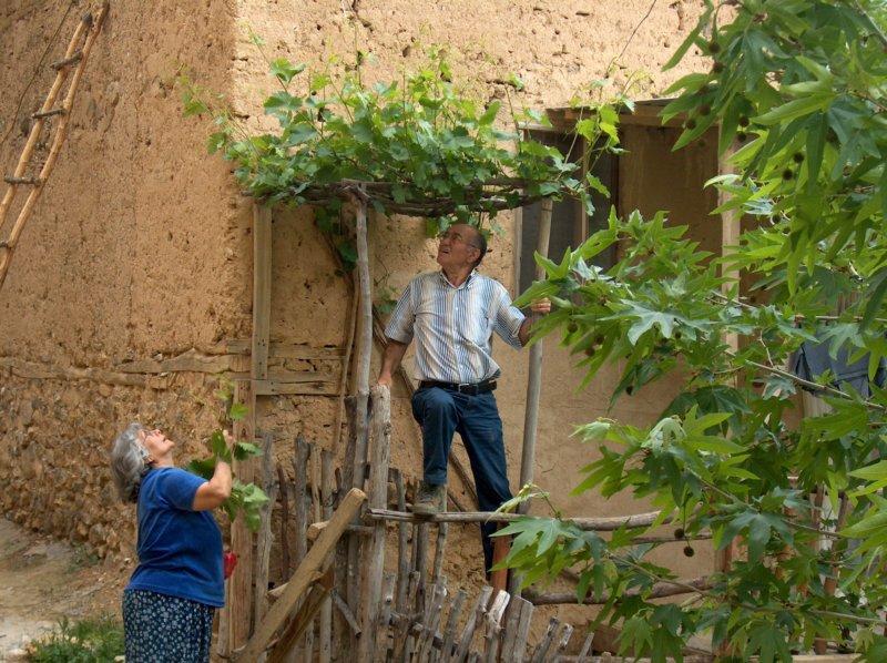 Dorfbewohner im Osten der Türkei