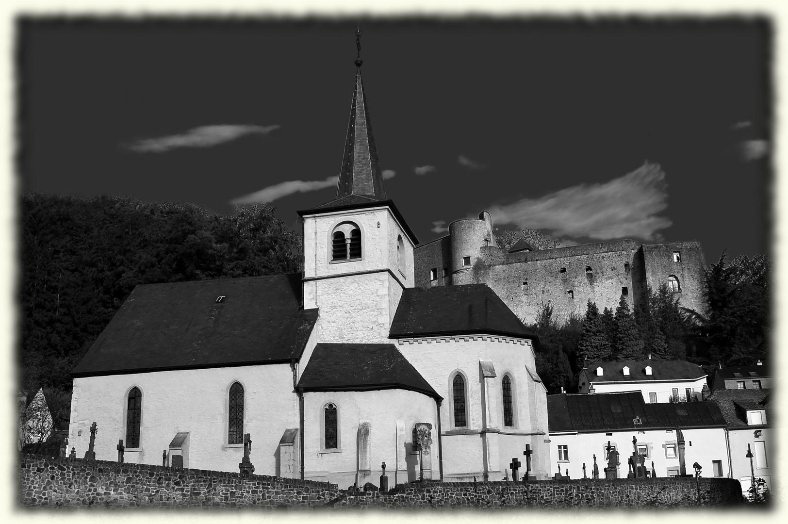 Dorfbild von Septfontaines ( Luxemburg)