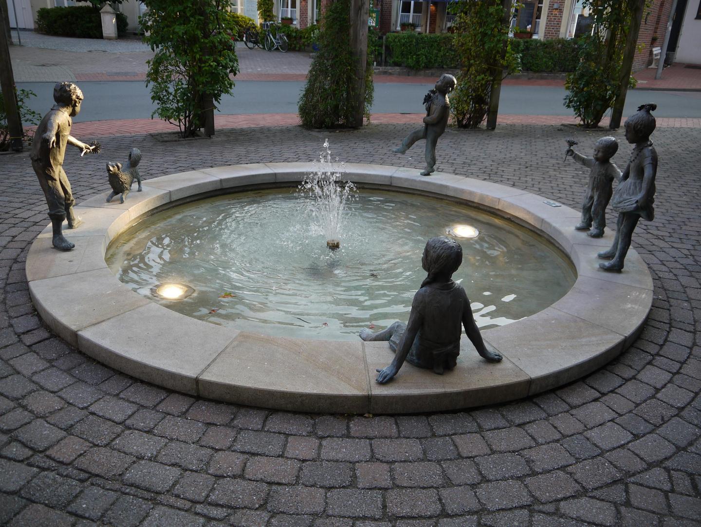 Dorfbrunnen in Legden