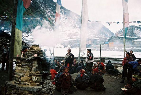 Dorffest in Lho