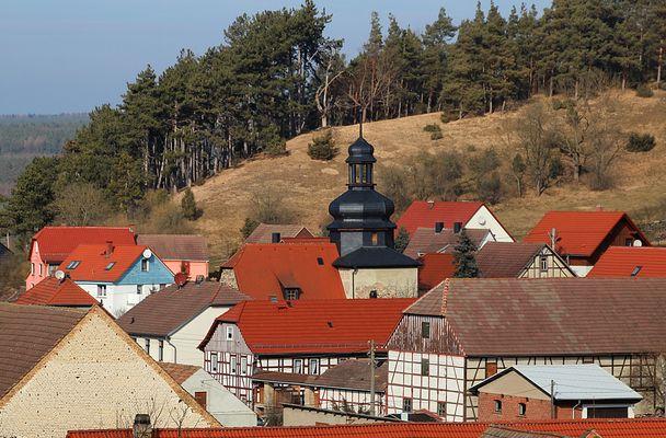Dorfidylle im Thüringer Land