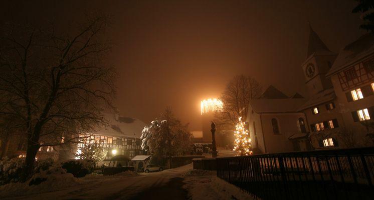 Dorfkern zur Weihnachtszeit