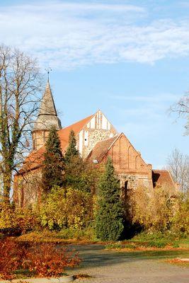 Dorfkirche Ankershagen von Osten II