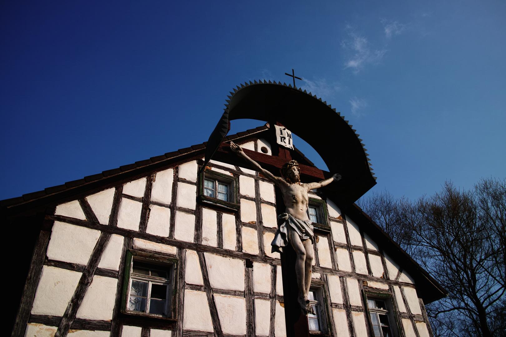 Dorfkreuz in Püttlach