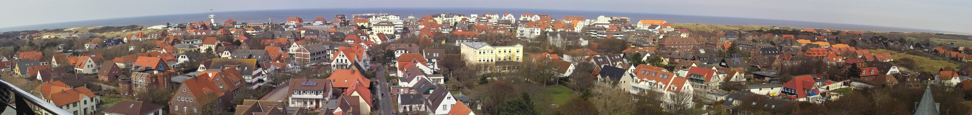 Dorfpanorama Wangerooge