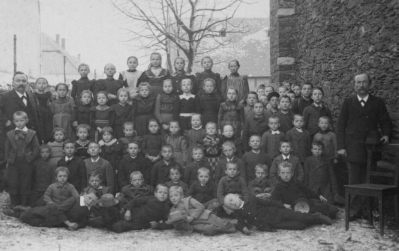 Dorfschulklassen