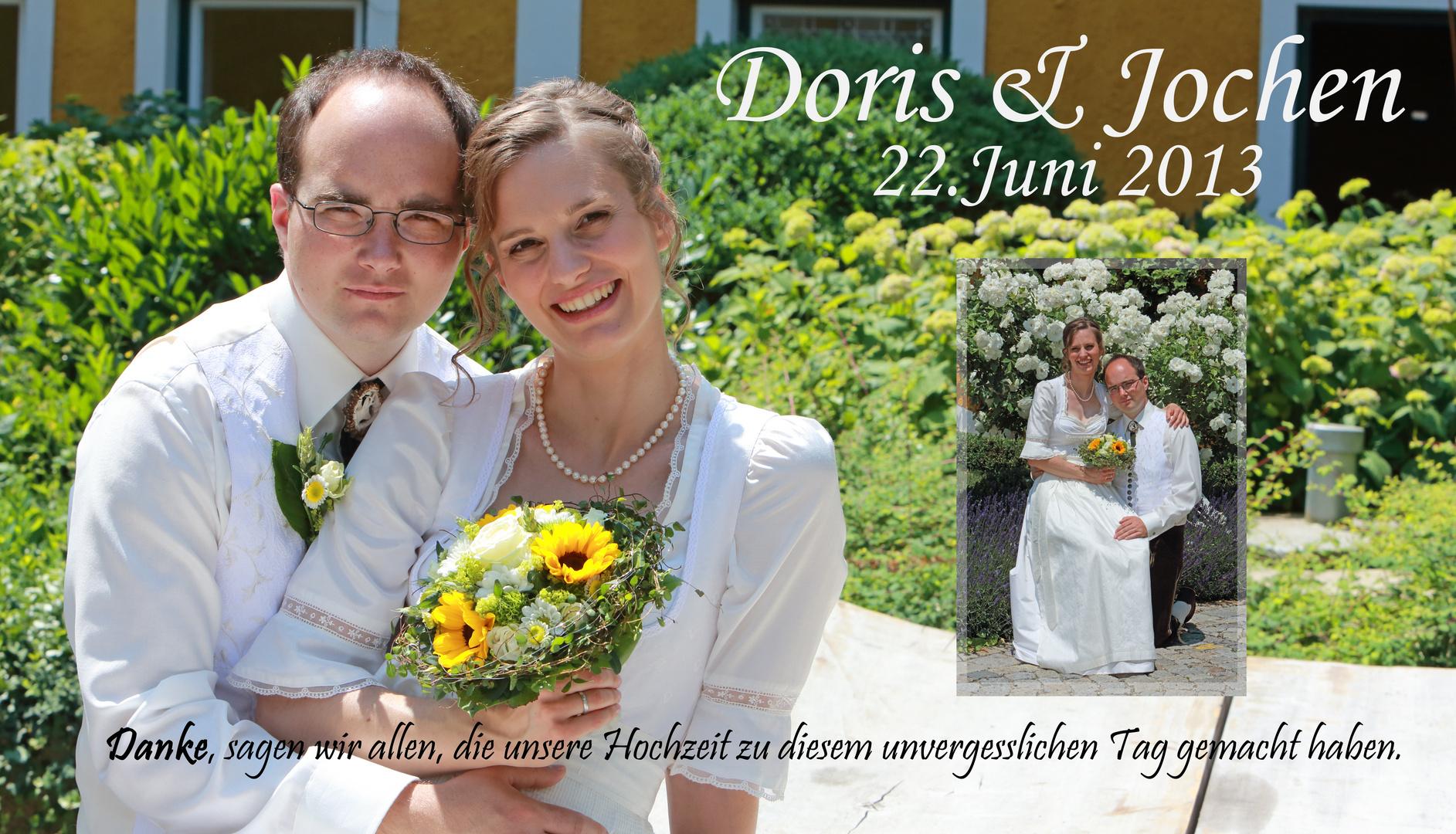 Doris & Jochen Wedding