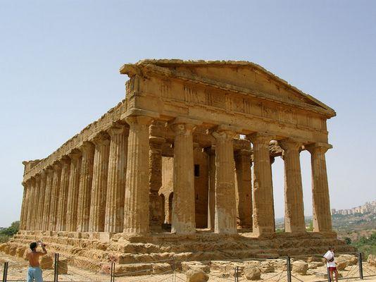 Dorische Tempel in Sizilien