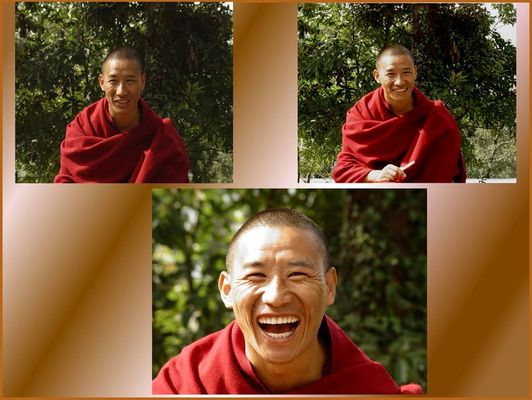Dorje, der lachende Mönch