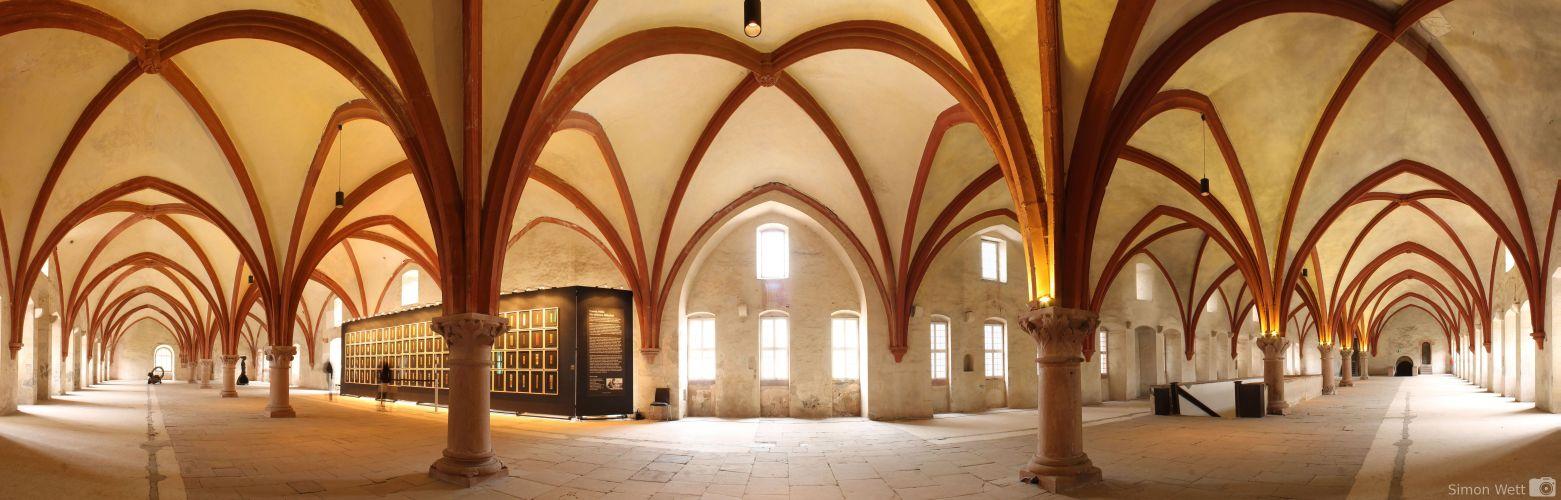 Dormitorium des Klosters Eberbach