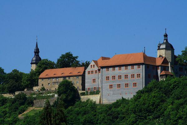 Dornburger Schlösser - Das alte Schloss - Dornburg (Saale)