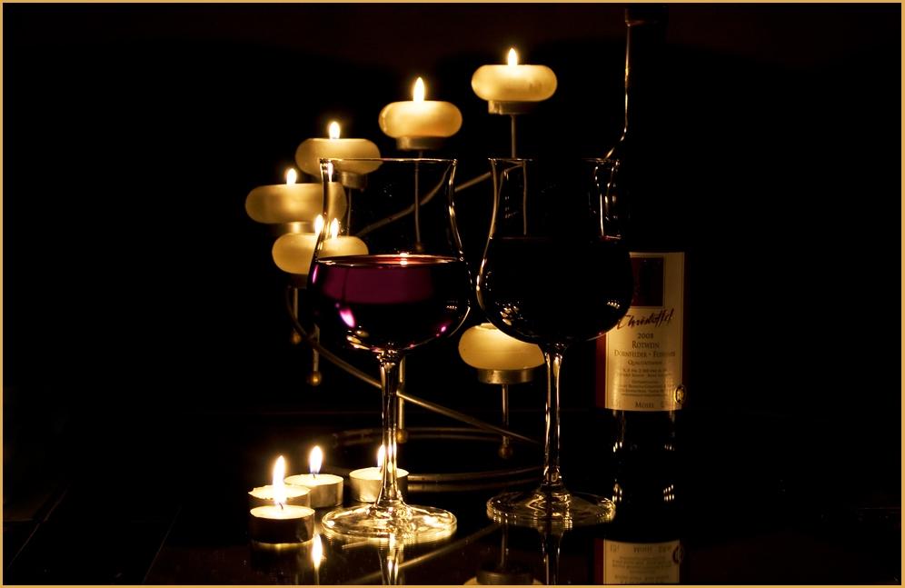 dornfelder ein wein f r romantische stunden zu 2 foto. Black Bedroom Furniture Sets. Home Design Ideas