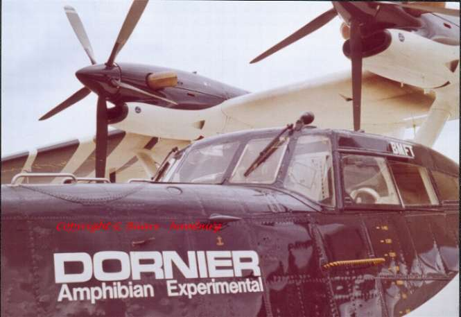 Dornier 24 TT (Amphibienflugzeug) - Kiel ca. 1983