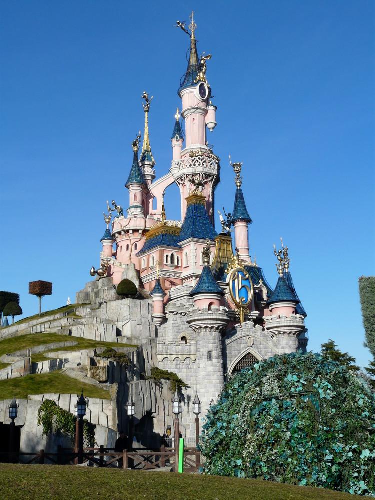 Dornröschen Schloß im Disneyland Resort Paris