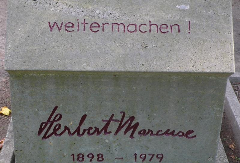 Dorotheenstädtischer Friedhof 2 - Herbert Marcuse