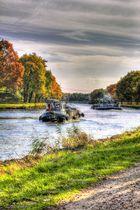 Dortmund-Ems-Kanal bei Lingen, Hanekenfähr