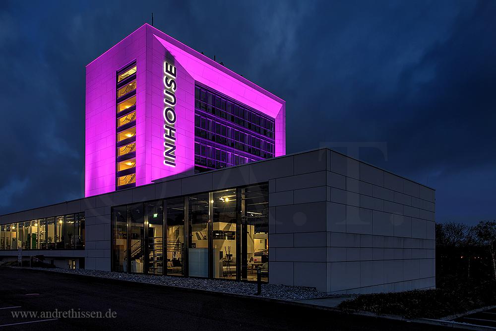 In House Dortmund dortmund inhouse foto bild architektur architektur bei nacht