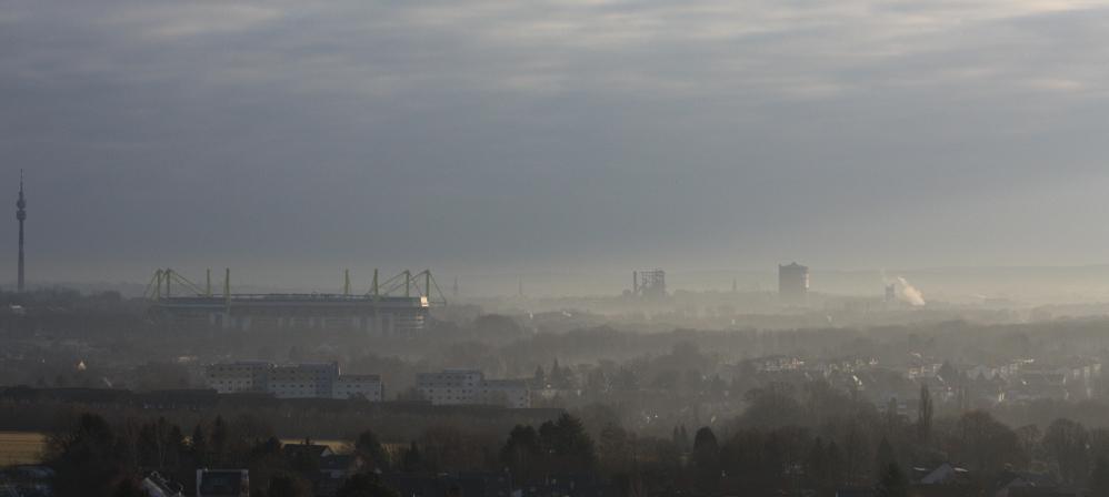Dortmund: Phoenix West und Stadion