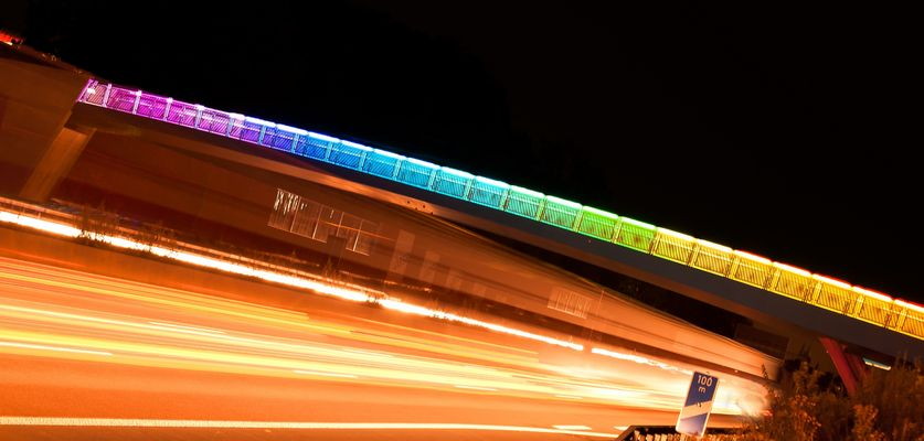 Dortmund - Regenbogenbrücke