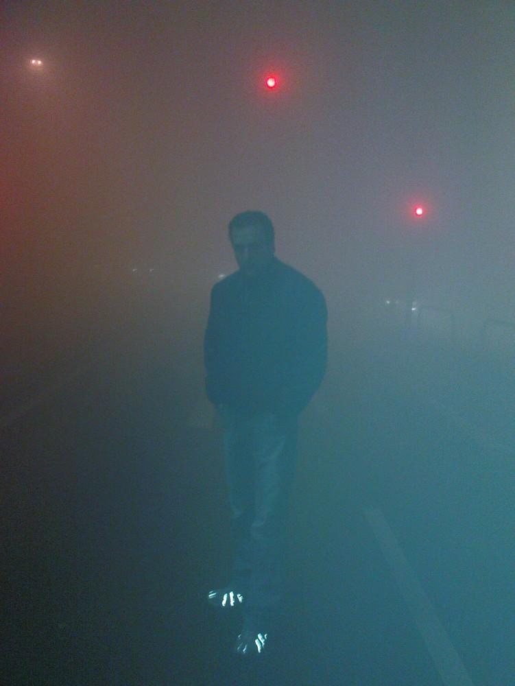 Dortmund versinkt 2008 im Nebel...! (Handy aufnahme)