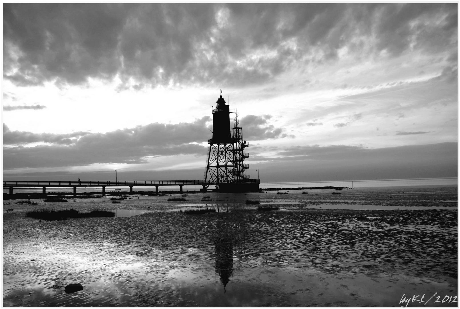 Dorum Leuchtturm 01 (sw)