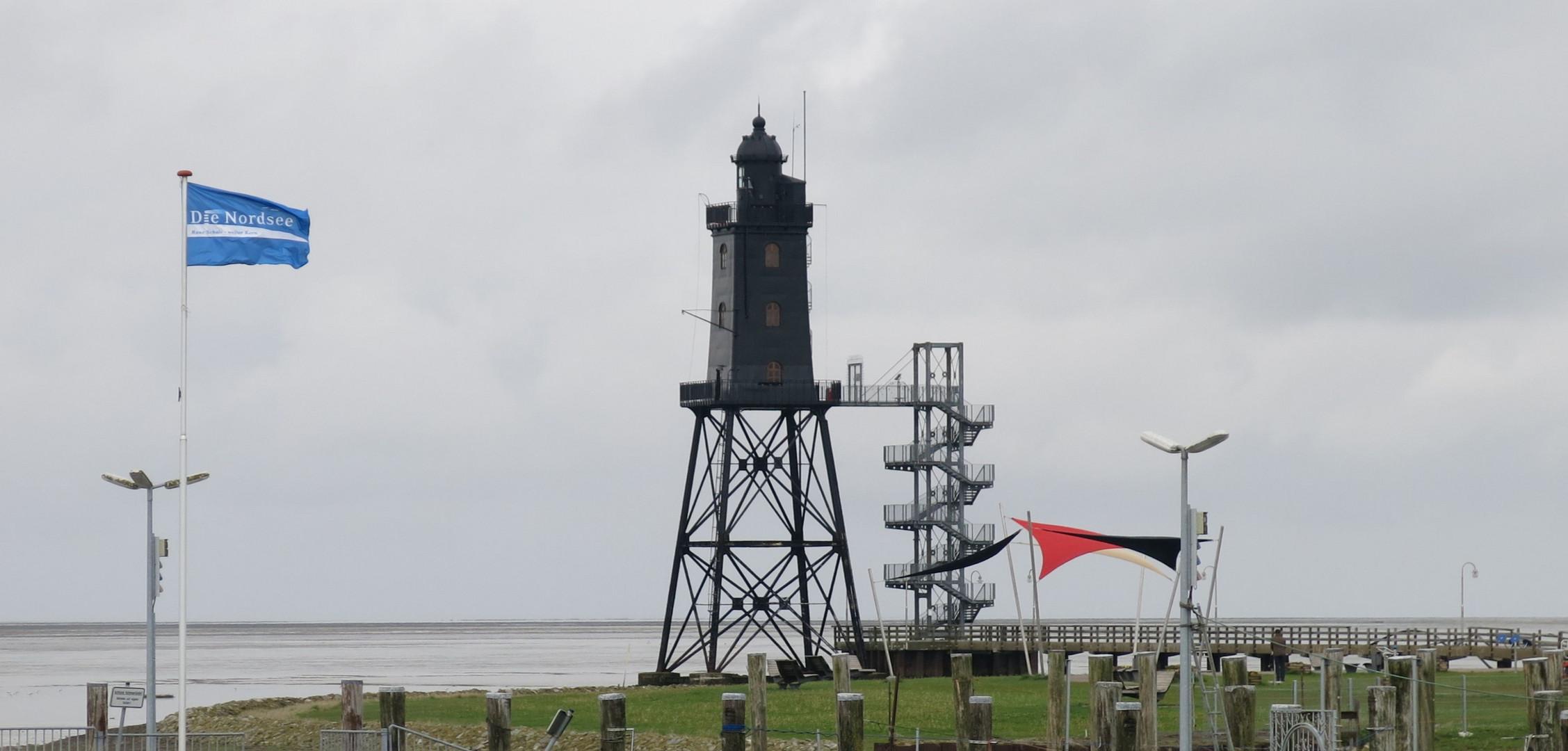Dorum - Leuchtturm Obereversand